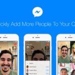 Facebook Messengerで、ビデオチャットに友だちを進行中に追加できるように!