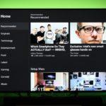 YouTubeは、Android TVアプリのデザイン変更、動画の品質を調整できるように