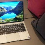 Huaweiの新しいラップトップ、MateBook X Proを発表!ディスプレイは非常に小さなベゼル