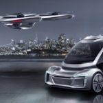 アウディとエアバスは搭乗型ドローン/電気自動車ハイブリッドを共同開発
