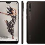 Huaweiのリーク画像、P20、P20ライト、3カムのP20 Proの全面、背面画像