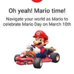 今日、3月10日は「マリオ・デー」!、Googleが一部のユーザーへ特別なポップアップを開始
