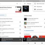 AndroidのPodcastプレーヤーがホーム画面、購読、アプリアイコンを更新