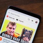 Android、YouTubeの新しい全幅検索バーのUIをテスト
