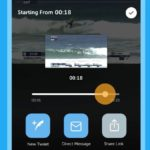 Twitterアプリでは、ライブビデオから特定の瞬間を簡単に共有可能に!