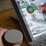 Surface Pro 4アップデートにより、オンスクリーンのサーフェスダイヤルの利用が可能に