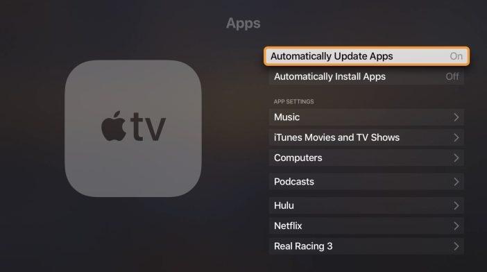 アプリ appletv