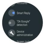 Android Wear スマートウォッチの動きを改善するために、「OK Google」検出機能を無効にする方法