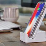 iPhone 8とiPhone X 用のおすすめ直立型ワイアレス充電器