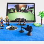 マイクロソフトのスマートマットは、物理的な世界とデジタル世界のシームレスな連動ゲーム
