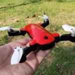 Simtoo Fairy Droneは、DJI SparkとTelloの中間に位置する小さな折り畳み式ドローン