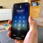 iOS 12、FaceIDを失敗しパスコード入力がでた後に、再度、FaceID認証を行う方法