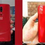 OnePlus 6 REDのハンドアウトイメージが流出?