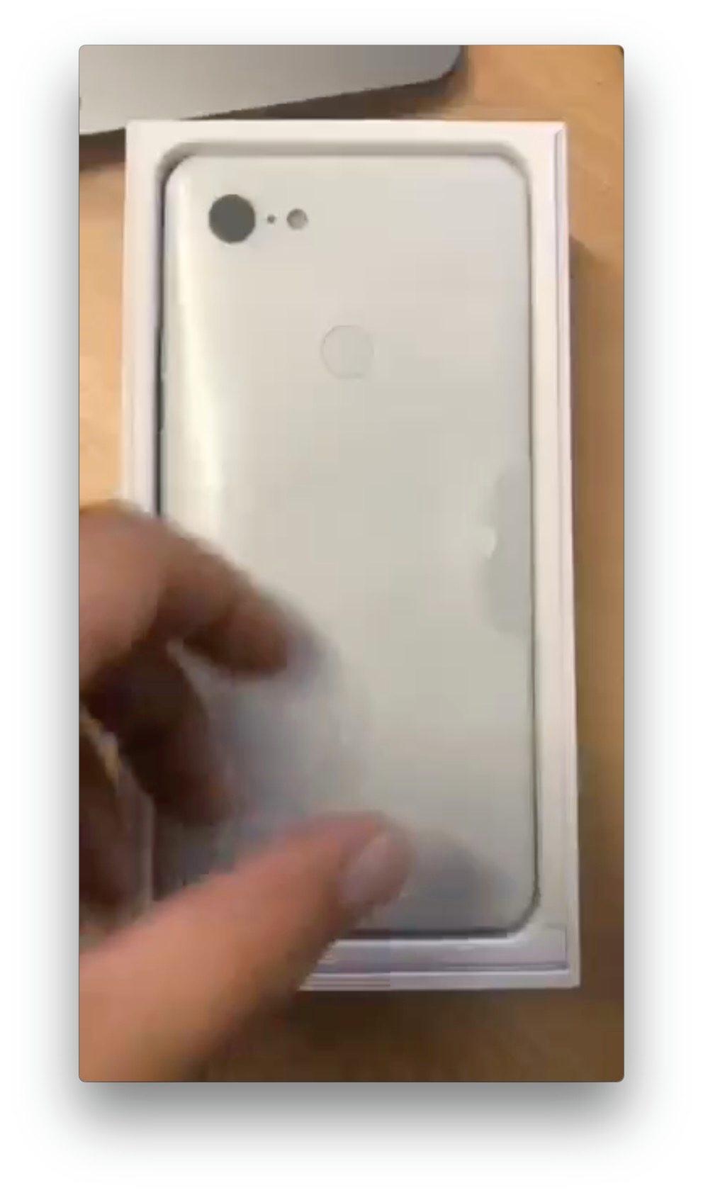 Google Pixel 3 Xlのアンボックス画像が流出 Around Mobile World