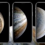 iPhone XSの壁紙に近い、NASAの宇宙テーマ壁紙をダウンロード
