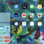 iPadでホーム画面に常にウィジェットを表示する方法