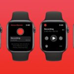 Apple Watchでボイスメモを録音する方法