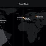 iPhone、iPad、Mac、Apple Watchで異なるタイムゾーンの都市の時刻を確認する方法