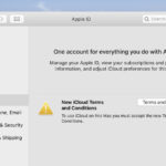 macOS CatalinaでiCloudの利用規約で発生するバグを修正する方法