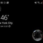 Samsung Galaxy S20でバッテリー残量のパーセンテージ表示を設定する方法
