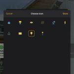iPhoneやiPadのホームアプリでHomeKitのデバイスアイコンを変更する方法